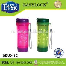 garrafa de água plástica da dobro-parede / garrafa do esporte / potenciômetro do chá / garrafa bebendo