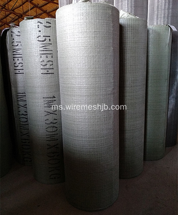 Grid Wire Galvanized Crushed