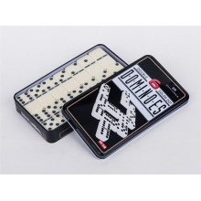 Dominoes Ivory Color In Tin Box