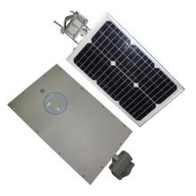 15W de haute qualité tout dans un réverbère solaire de LED avec le mouvement de PIR