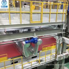 Máquina de tecido não tecido pp spunbond totalmente automática