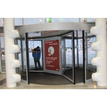 Commercial Three Wing Revolving Doors for Large Entrances