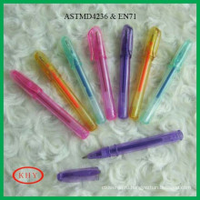 Promotional colorful mini gel ink pen for children