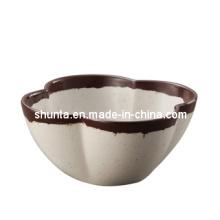 Vaisselle 100% en mélamine - bol de forme de fleur (CS4232)