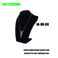 Pop Black Velvet MDF Jewelry Necklace Display (JN-VH-BV)