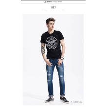 OEM Fashion Custom Logo Printed Men′s T Shirt