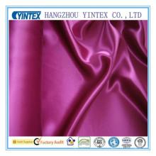 Tissu en soie de polyester