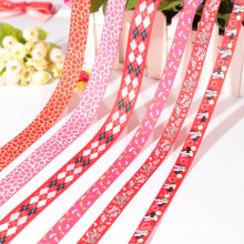 high quality patterned grosgrain ribbon,paw print ribbon