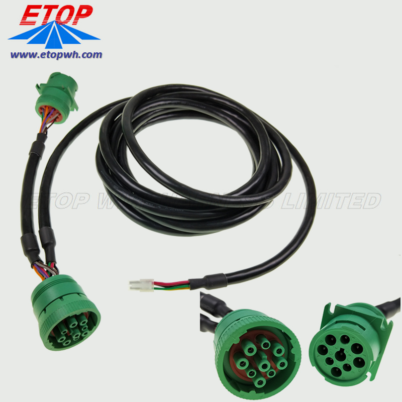 diagnostic cable with J1939 connector