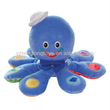 2015 New Design Lovely Smile Octopus Plush Toys