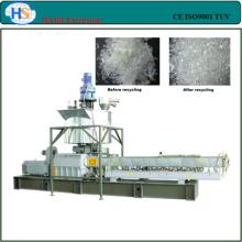 CE marca doble tornillo máquina de la granulación de plástico reciclado PET/PC