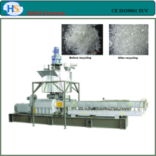 CE marks Double screw PET/PC recycling plastic pelletizing machine