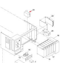 Компания Panasonic СМТ NF для Sp60p-М машина экрана принтера (KXFP6G0GA00)