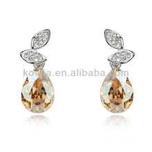 Fashion teardrop earrings crystal accessories jewelry earrings for sale