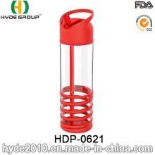 Bouteille d'eau en plastique sans BPA Tritan portable 2016 (HDP-0621)