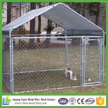 Cadenas de alta calidad cerca de la cadena perrera perreras con la parte superior del marco