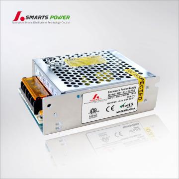 ETL a énuméré 12v 60 watt cas d'alimentation en métal a mené les conducteurs électriques de projecteur