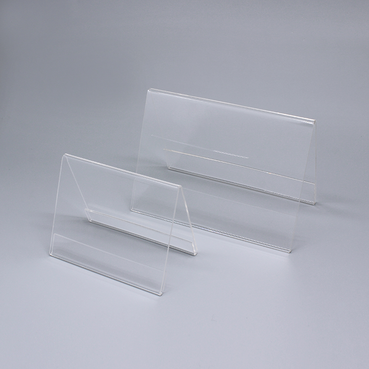 Clear Perspex Stands