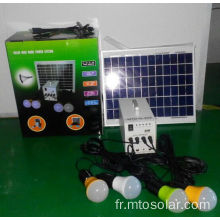 10W solaire solaire DC Energy System Accueil