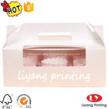 Hot sale cup cake paper box