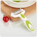 Éplucheur de fruits en acier inoxydable multi-usages de cuisine (14.5 * 7CM)
