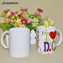 Sunmeta 11OZ Blank Sublimation Heat Press Imprimé Mug