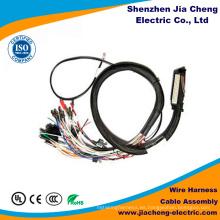 Equipo de arnés de cables eléctricos macho y hembra