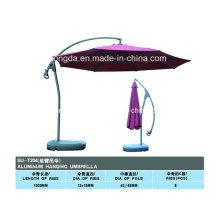 Professionelle Aluminium Side Pole Beach Sonnenschirm (YSBEA0014)