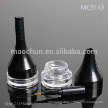 MC5143 Cosmetic Eye shadow container with brush/case/packaging with brush