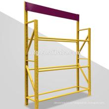 Складные стеллажи для стеллажей средней грузоподъемности с увеличенным углом наклона для автошин в магазине 4S