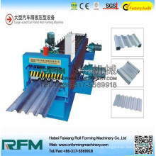 Car and automobile panel making machine