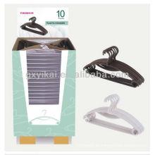 Juego de suspensión plástica promocional 10pcs embalado con cartón de pantalla