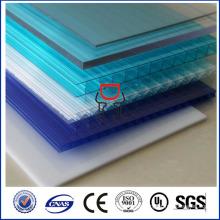 SGS ISO aprobará la hoja de policarbonato transparente de alta calidad, el precio de la hoja de policarbonato