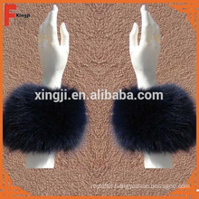 natural color real fox fur cuff