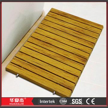 Anti-slip DIY Design WPC Wood Shower Mats