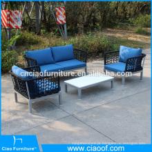 Novo Design 4-pc Mobiliário Exterior PL Corda Set Sofá