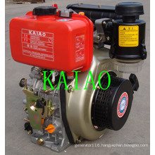 6kw Air-Cooled Single Cylinder Diesel Engine KA186F