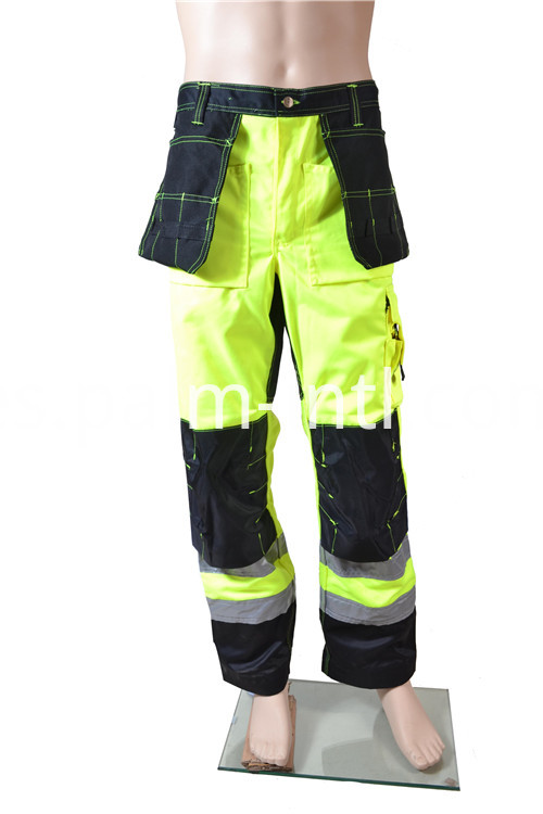 T/C Fluorescent Yellow Working Pants