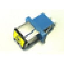 Adaptateur hybride à fibre optique LC avec volet anti-poussière