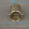 Steel ball cage retainer,plastic ball cage,cooper guide ball bearing cage