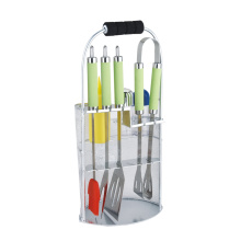 8pcs stainless steel bbq tools set