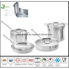 3 Ply Body Induction Cookware Set