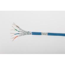 Câble Ethernet intérieur / extérieur blindé SSTP à grande vitesse Cat7 avec jaquette LSZH