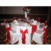 Satin chair cover,Banquet/hotel chair cover,satin sash