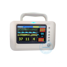 7 Inch Veterinary Multiparameters Monitor with ECG Monitor (Capno-70)