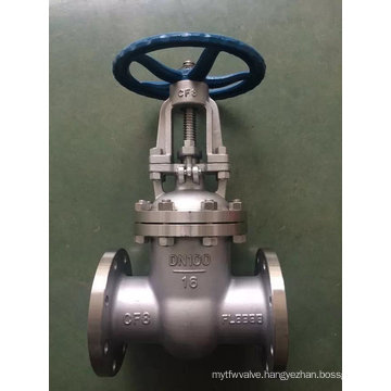 Ss304/316 ANSI Wedge Gate Valve Wihh Falnge End (Z41)