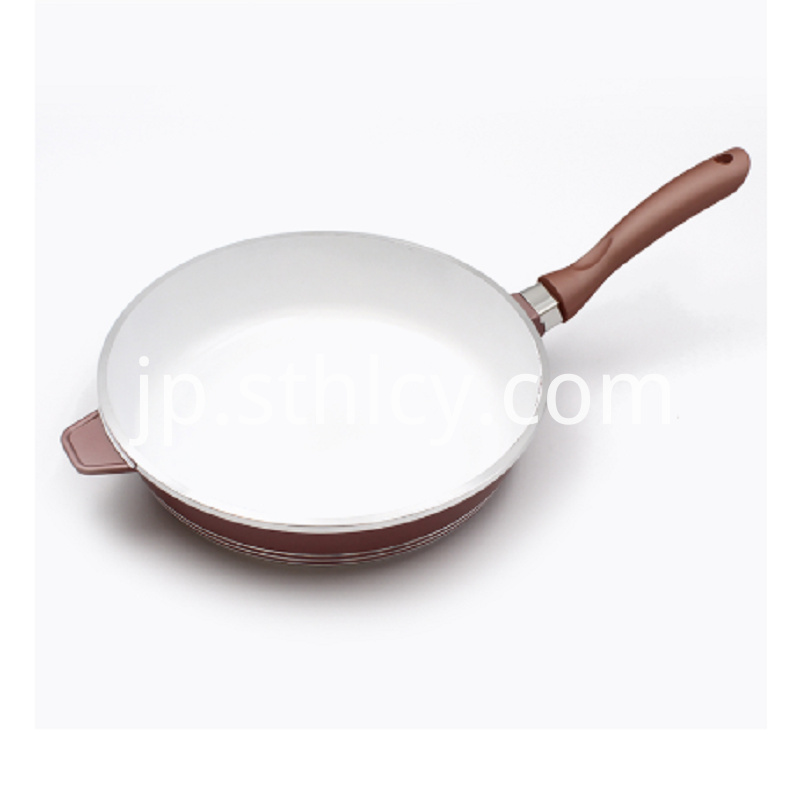 Stainless Steel Aluminum Frying Pan
