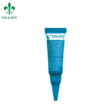 Pantalla de impresión tubo de punta de boquilla de plástico Crema Cosmética