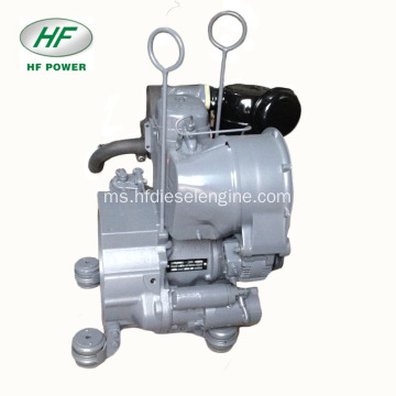 Enjin Deutz F1L511 Air-Coolrd Single-Silinder 4-lejang