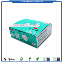 Rubber stationery color display box